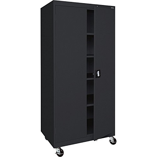 Sandusky Lee TA4R302466-09 Transport Series Mobile Storage Cabinet, ()