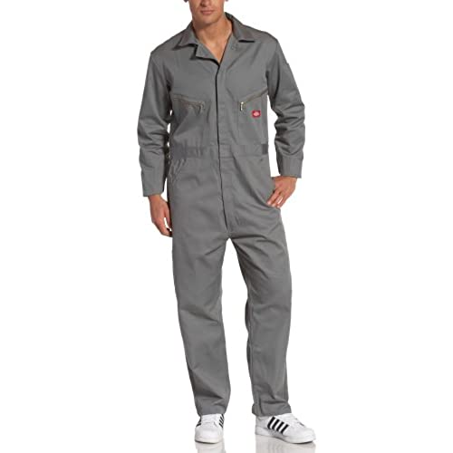 ab056547427 Dickies Menu0027s 7 1 2 Ounce Twill Deluxe Long Sleeve Coverall Gray Large  Tall Sc 1 St Amazon.com. Image Number 8 Of Janitor Costume .