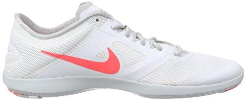 Nike Studio Trainer 2 - Zapatillas de gimnasia para mujer Weiß (White/Hot Lava-Grey Mist)