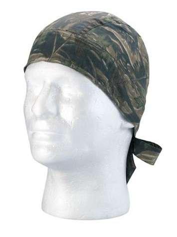 Smokey Branch Camo Head Wrap Do-rag (2 Pack)