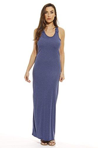 knit tank maxi dress - 2