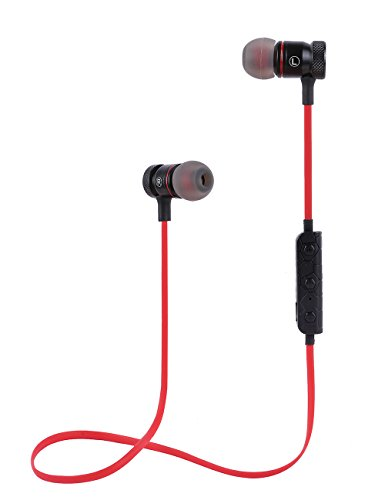 Stereo Bluetooth Headset (Red) - 5