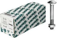 Format 4317784148443 Flachrundschrauben, DIN 603. verzinkt, M8 x 120, HP E-NORMpro