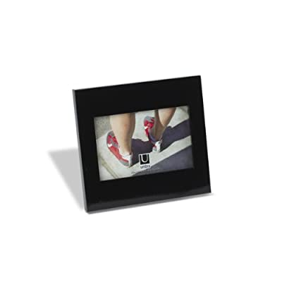 Umbra Simple Picture Frame, 4-by-6-Inch, Glossy Black -  - picture-frames, bedroom-decor, bedroom - 31Q%2BCwb10jL. SS400  -