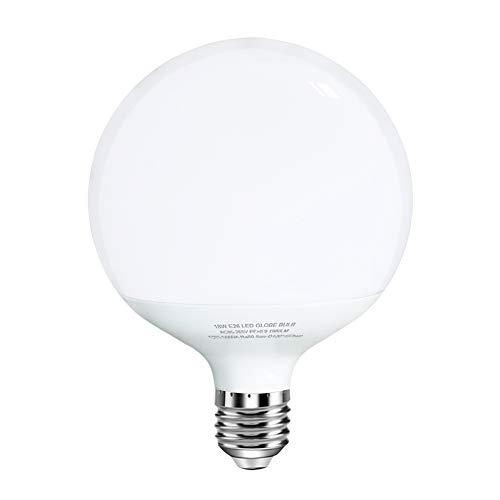 18W LED Globe Bulb 100-150W Equivalent Incandescent Bulbs Replacement, E26 Medium Screw Base, Globe Shape, 1880 Lumens, Non-Dimmable 3000k Fluorescent Light - Dimmable Light Fluorescent