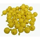 4-Way Yellow Pop Beads Pk 300