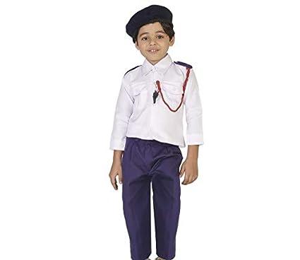 Buy PartyHut® Traffic Police Community Helpers Fancy Dress Costume