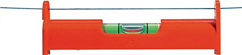 Schnurwasserwaage 7,8cm rot