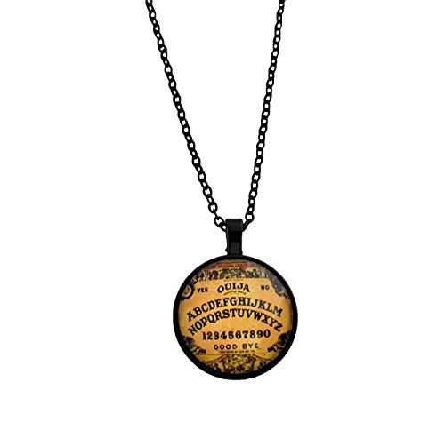 Free Spirit Clothing Co Ouija Board Necklace - Perfect Jewelry Gift A Fan The Supernatural, Ghosts Horror - Handcrafted Ouija Board