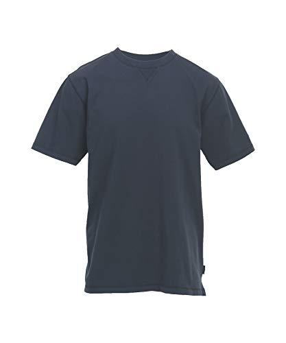 Woolrich Men's First Forks Solid T-Shirt, Deep Indigo, Small