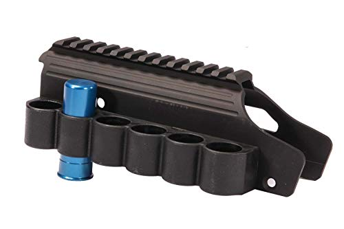 - Lyman Shotgun Rail Mount with Sidesaddle for Mossberg 930, 500 or 590 and 12 Gauge A-Zoom Snap Cap
