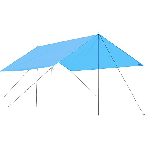 Kany Lightweight Water Resistant Sun Shelter Tarp Portable Canopy for Shade C&ing Hiking Rain Tarp With  sc 1 st  C&ing Companion & Kany Lightweight Water Resistant Sun Shelter Tarp Portable Canopy ...
