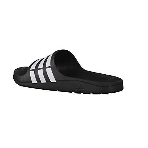 Blanc Noir Adidas Core Duramo Tongs Slide Unisexe wx66RY4q