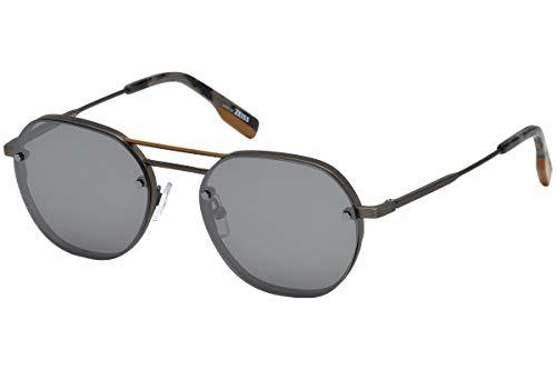 Sunglasses Ermenegildo Zegna EZ 0105 08C shiny gumetal / smoke mirror from Ermenegildo Zegna
