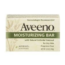 - Aveeno Gentle Moisturizing Bar Facial Cleanser with Nourishing Oat for Dry Skin, Fragrance-free, Dye-Free, & Soap-Free, 3.5 oz  pack of 8