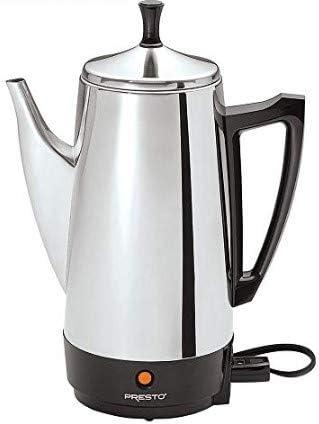 Amazon.com: Presto 02811 - Cafetera (12 tazas, acero ...