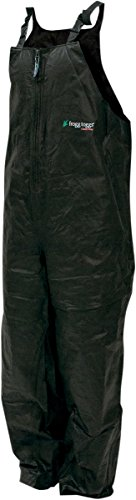 Frogg Toggs Pro Advantage Bib, Black, Size XXX-Large from FROGG TOGGS