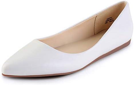 CZZPTC Leather Women's Flat Shoes