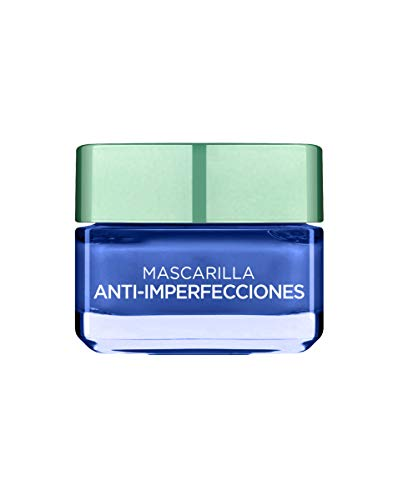 L'Oréal Paris  Arcillas Puras Mascarilla Facial Anti-imperfecciones Azul - 50 ml