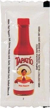 Tapatio Hot Sauce Travel 100 1/4 oz. Packets (Sauce Packet)