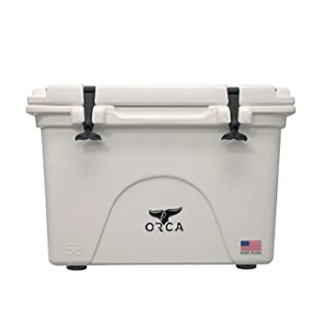 ORCA Orcw058 Cooler, White, 58-Quart