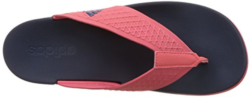 adidas Adilette Cf Ultra y W, Chanclas para Mujer Rojo / Azul (Rubsup / Minera / Maruni)