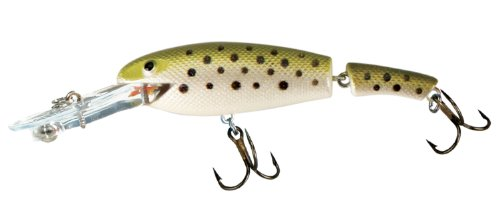 Cotton Cordell Jointed Wally Diver Fishing Lure - Glowby