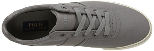 Polo Ralph Lauren Hombres Hanford Fashion Sneaker Basic Gray