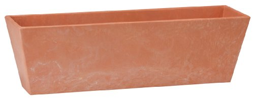 Novelty ArtStone Ella Flower Box, Terra, 14.5-Inch ()
