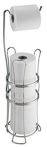 mDesign Standing Toilet Bathroom Storage