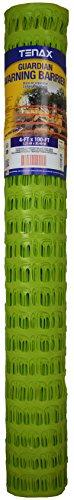 (Tenax 2A040003 Guardian Warning Barrier, 4' x 100', Fluorescent)