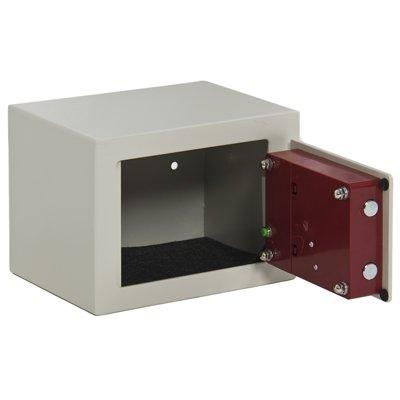 Digital Electronic Safe Box Keypad Lock Security Home Gun Cash Jewelry Hotel White
