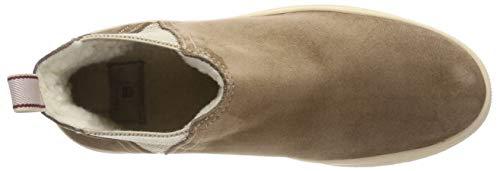 Marrón Para Brown Mujer G467 Gant Maria Botas Plisadas mud UxfXt