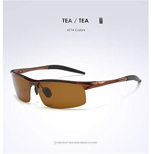 Star de UV Hombre Ciclismo Sol UV400 Gafas de blackframegray Opcional protección marrón Gafas para polarizadas 0fq0Avwr
