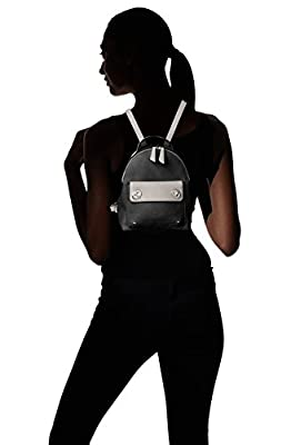 T-Shirt & Jeans Two Toned Back Pack with Turn Locks