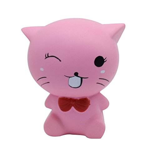 Welcomeuni Release Stress Squeeze Jumbo Stress Stretch Cat Cream Scented Slow Rising Toys