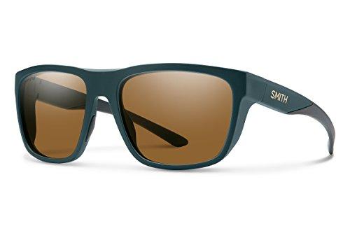 Smith Barra Chroma Pop Polarized Sunglasses, Matte Forest