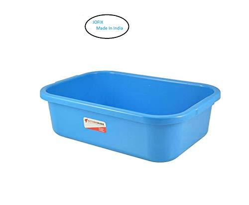 JOFIX Unbreakable Multipurpose Plastic Big Tray, 56.5×36.5×16.5 cm Multipurpose Organizer Tray Price & Reviews