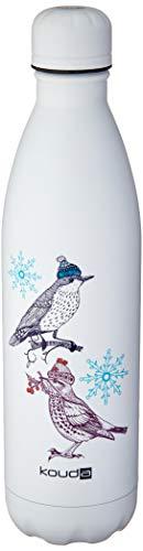 Garrafa 10385 Birds Kouda Branco