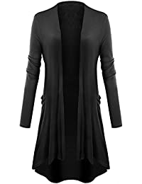 Womens Open Front Cardigan