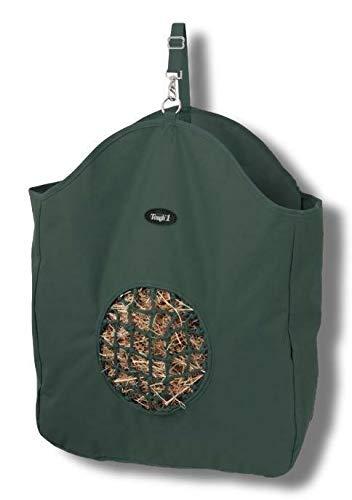 Nylon Hay Net - Tough-1 Nylon Tote Hay Bag with Poly Net