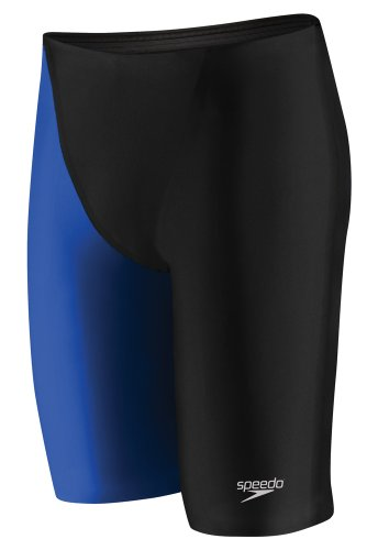 Speedo Men's LZR Racer Elite 2 High Waist Jammer - 26 - Black / (Mens Lzr Racer)