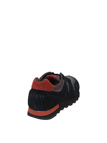 Fmcha4sue12 Noir Guess Chaussure Sportif Jeans Homme SqHZx5OwH