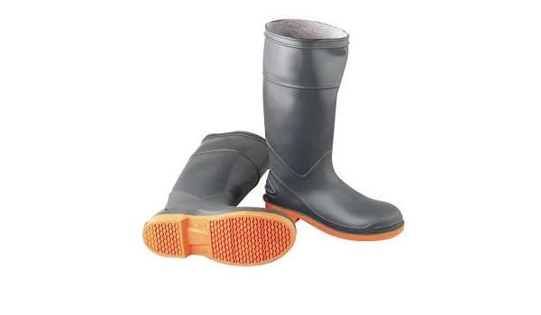 2784c30ab176e Onguard Industries Size 10 SureFlex Gray And Orange PVC Kneeboots ...