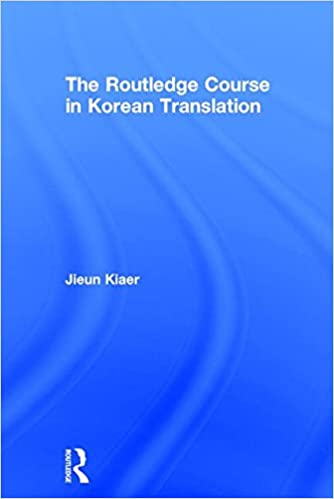 Book The Routledge Course in Korean Translation