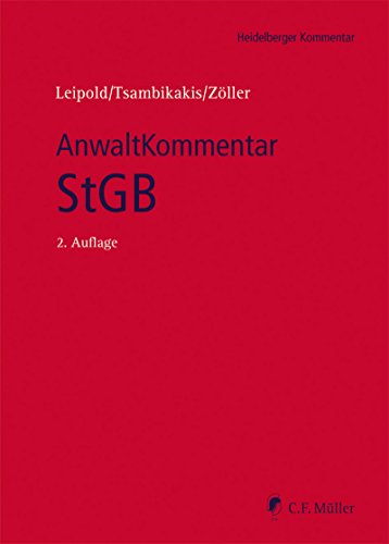 AnwaltKommentar StGB (Heidelberger Kommentar) (German Edition)