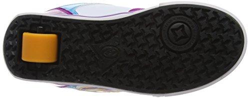 Heelys Motion Plus, Zapatillas para Niñas white/fuschia/multi