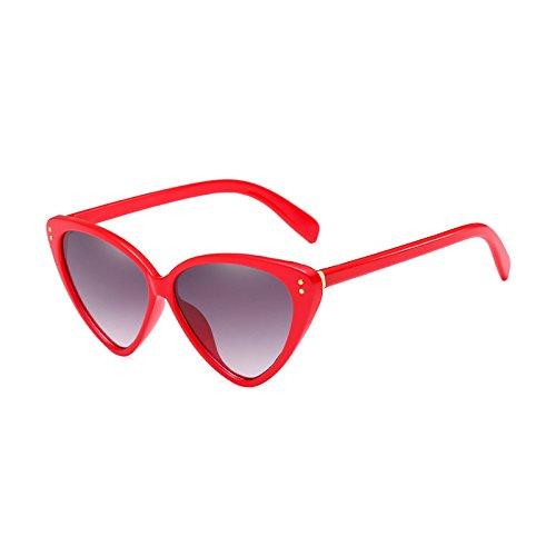 D Mujer E Marca Lente Eye Nueva Cat Hombre Acetato Moda Designer Degradado Gafas de Eyewear de UV400 Marcos Burenqi Sol de XqScHRxwx1