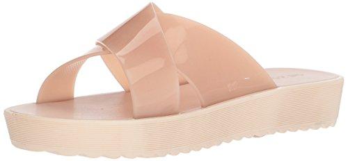 Zaxy Womens Clubber Slide Sandal Nude CSDkChK