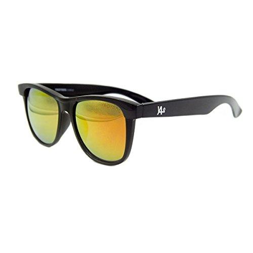 Vhccirt Classic Wayfarer Sunglasses Black Full Frame Oval Colorful Lens Polarized - Lenses Black Full